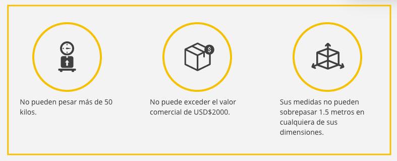 casillero internacional, compras en usa, traer compras de usa a colombia, ultrabox, tarifas ultrabox, impuestos de importación, impuestos colombia, importar a Colombia